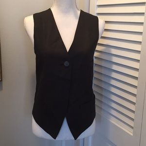 Lord and Taylor black vest